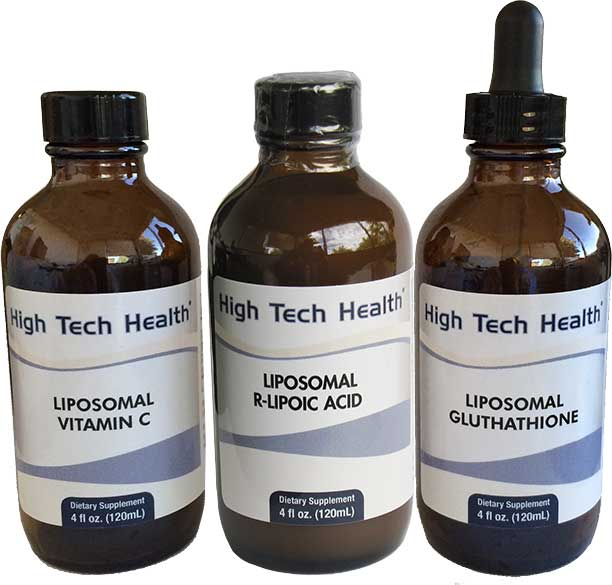 High Tech Health Liposomal Supplements