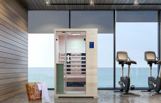 TR-2 gym Far Infrared Sauna