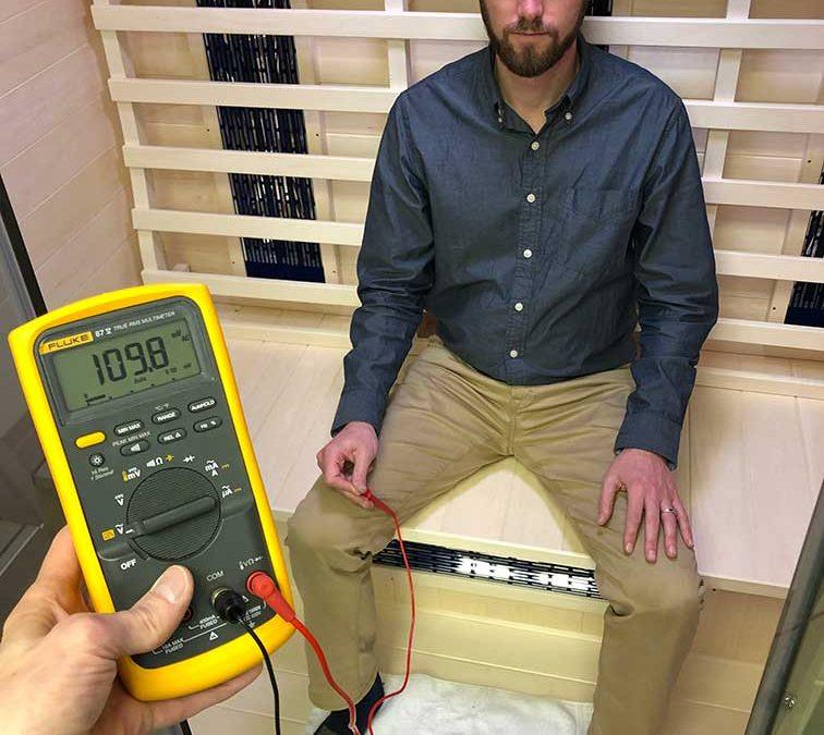 Body voltage inside the Transcend TR-3