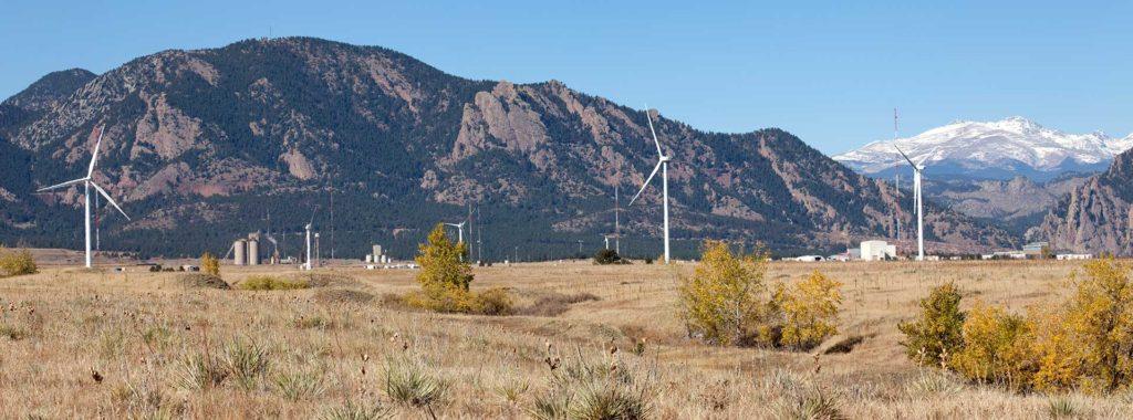 Windmills in Colorado