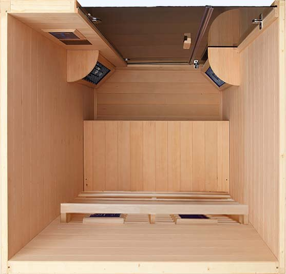 Transcend TR-2, Two Person Sauna in Hemlock Wood